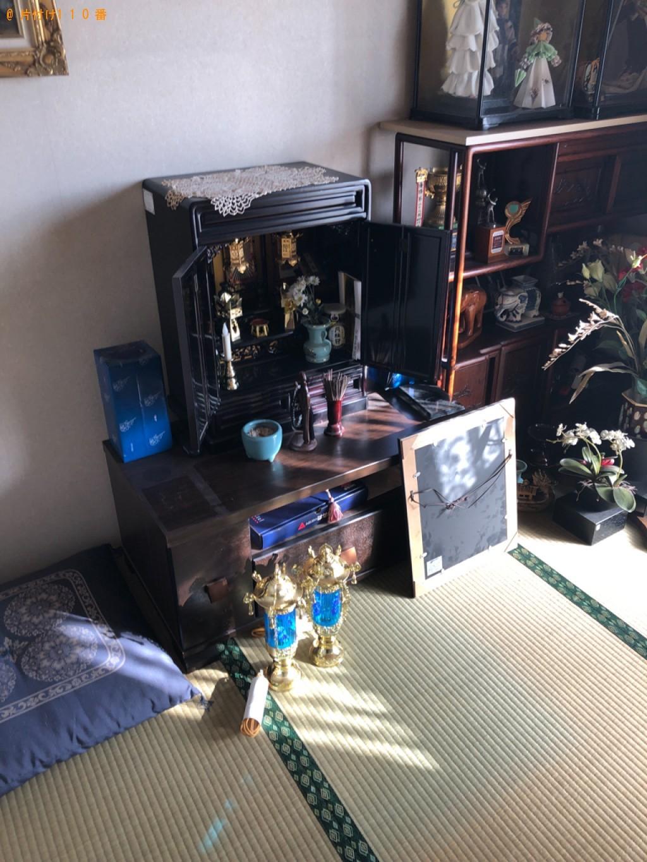 【糟屋郡粕屋町】仏壇、お位牌、仏具、遺影の回収・処分ご依頼