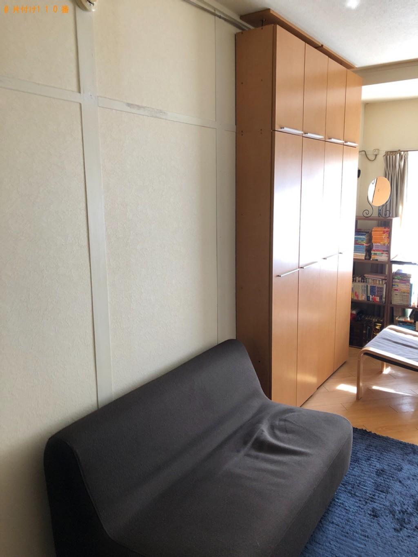 【福岡市博多区】本棚、二人用ソファー、鏡台の回収・処分ご依頼