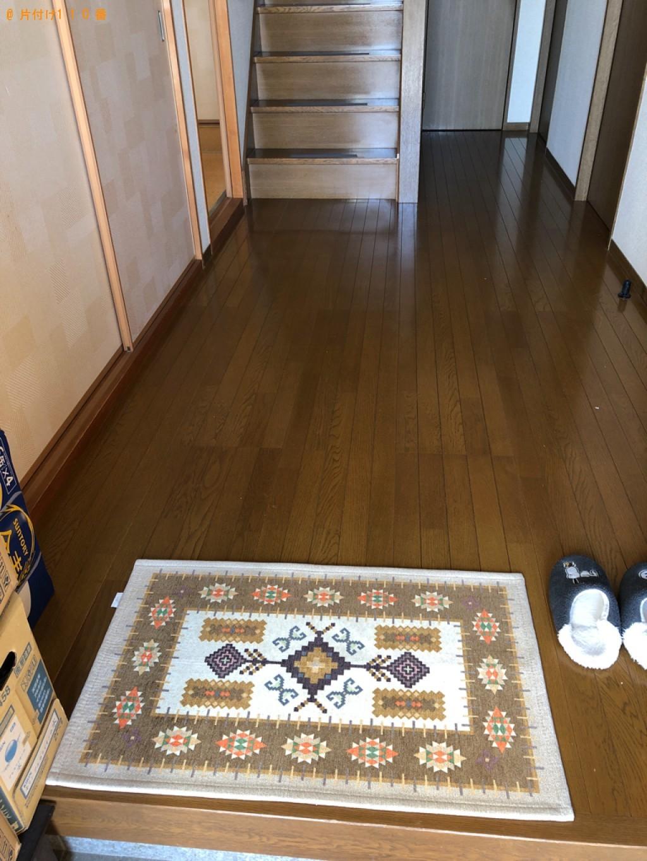 【太宰府市】四人用ダイニングテーブル、椅子、ラックの回収・処分