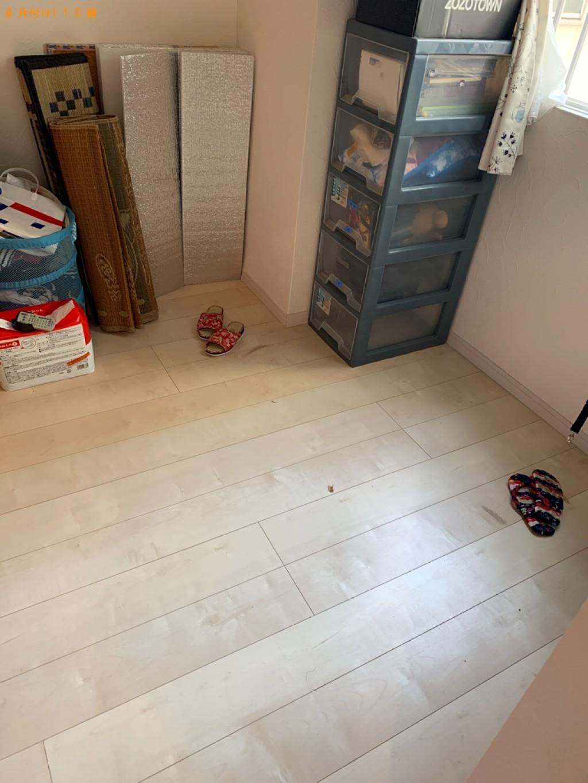 【福岡市博多区】冷蔵庫、こたつ、鏡台、椅子等の回収・処分ご依頼
