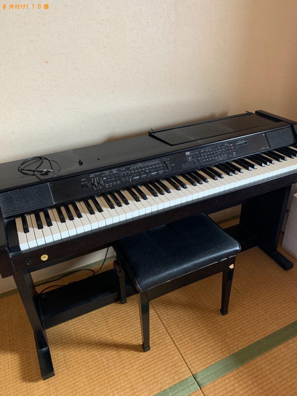 【福岡市東区】食器棚、電子ピアノ等の回収・処分ご依頼 お客様の声