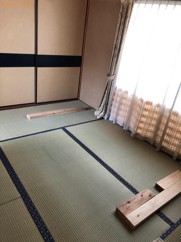【福岡市南区】マットレス付きシングルベッド、布団の回収・処分