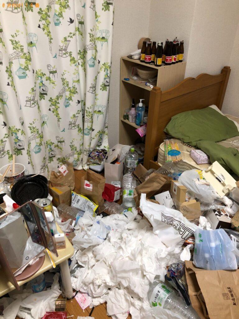 【大田区】部屋の片付けと一般ごみの回収・処分ご依頼