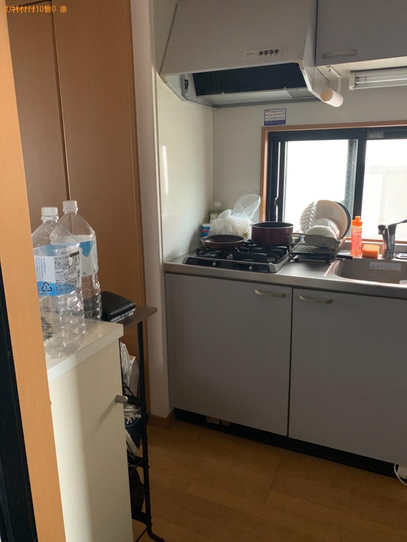 【福岡市中央区】シングルベッドマットレス、クッションの回収・処分