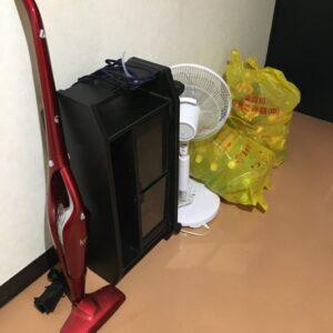 【飯塚市】こたつ、タンス、テレビ台、スティック型掃除機等の回収