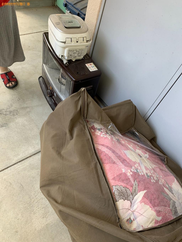 【福岡市早良区】布団、炊飯器、ストーブ、灯油タンクの回収・処分