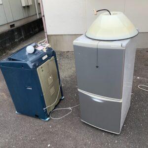 【春日市】冷蔵庫、洗濯機の回収・処分ご依頼 お客様の声