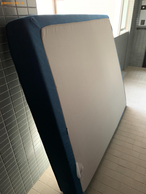 【福岡市東区】クイーンベッドマットレスの回収・処分ご依頼