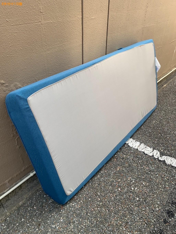 【福岡市博多区】シングルベッドマットレスの回収・処分ご依頼