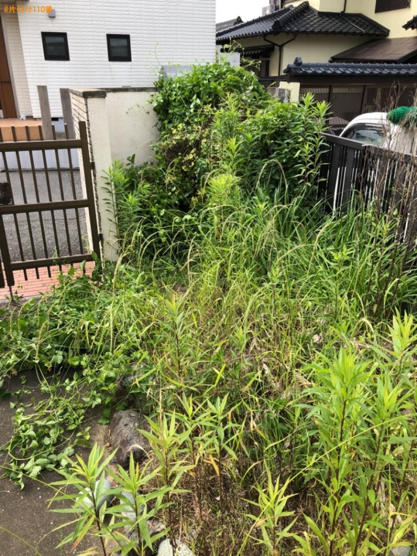【遠賀郡水巻町】草刈り作業ご依頼 お客様の声