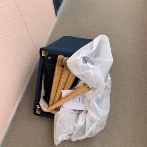 【福岡市東区】椅子の回収・処分ご依頼 お客様の声