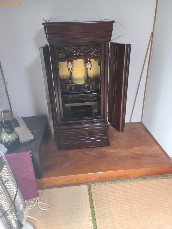 【福岡市東区】仏壇、仏具の回収・処分ご依頼 お客様の声