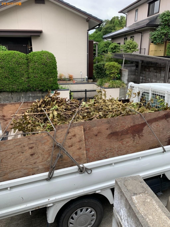 【大野城市】剪定した枝の回収・処分ご依頼 お客様の声