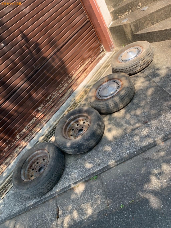 【福岡市西区】自動車タイヤの回収・処分ご依頼 お客様の声