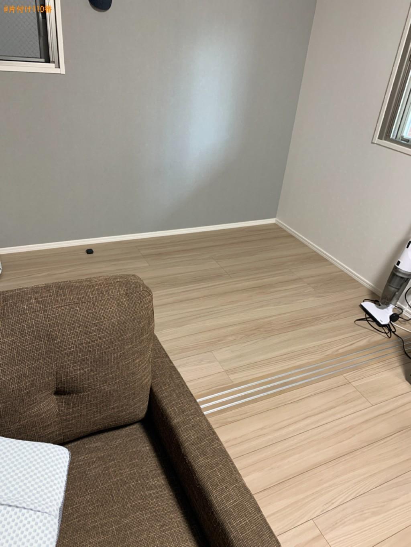 【福岡市博多区】マットレス付きシングルベッドの回収・処分ご依頼