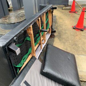 【福岡市早良区】三人掛けソファーの回収・処分ご依頼 お客様の声