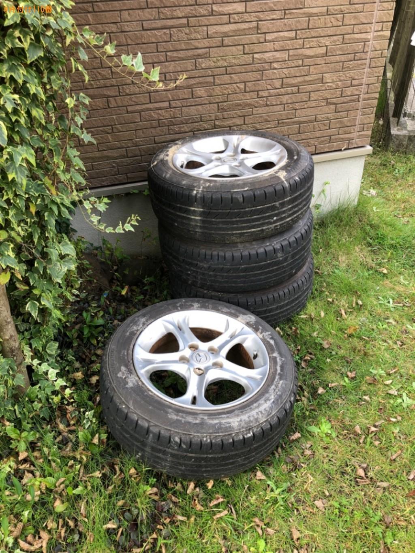 【宗像市】自動車タイヤの回収・処分ご依頼 お客様の声